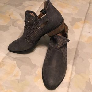 Buckle Daytrip Ankle Booties Size 8 1/2